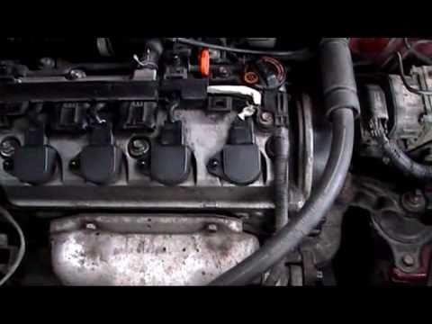 Honda civic timing belt replacement 1 4 gasoline model for Honda civic timing belt replacement