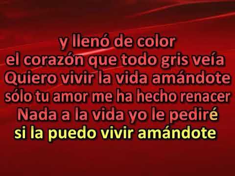 Marc Anthony y Tina Arena   Quiero vivir la vida amandote [karaoke]