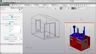 КОМПАС-3D v18. Макеты компонентов в сборке