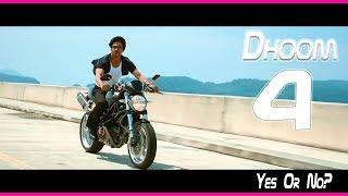 SRK In Dhoom 4 l Yes Or No? Confirmation I Shah Rukh Khan