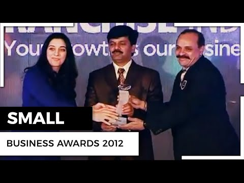 Small Business Awards 2012