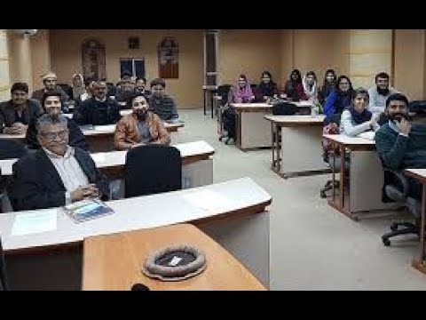 URDU: Interactive Session with PIDE Students: Taking Responsibility