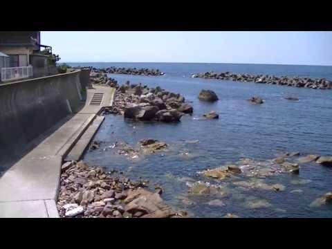 厨大浜 くりや大浜 海水浴場の風景 福井