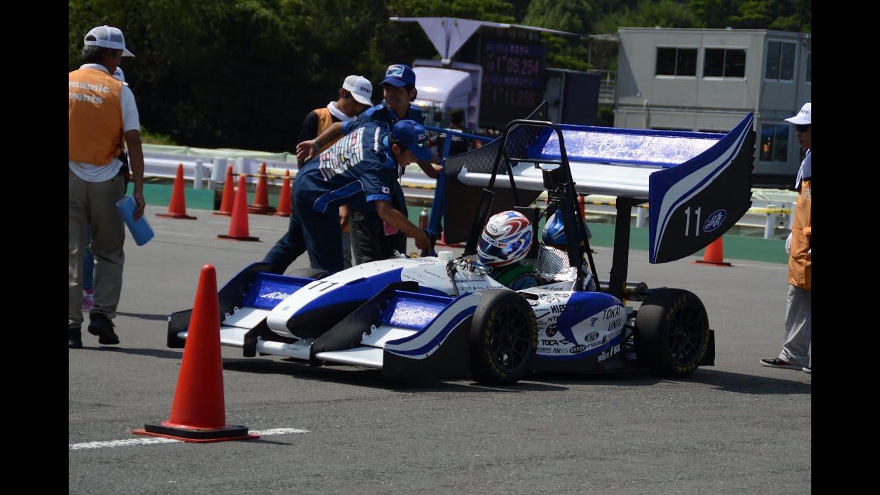 Fsae Japan 2014 11 Tokai University Endurance Youtube