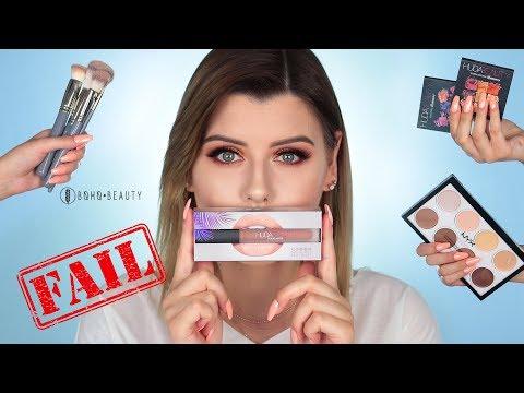 Test nowości | Boho Beauty Brushes, Huda Beauty | Chat makeup