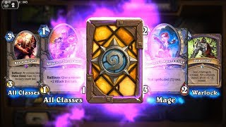 Blood Knight and Faceless Manipulator - Classic Hearthstone epic card pack opening