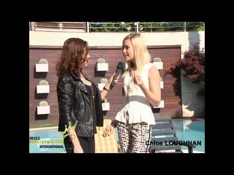 MISS EUROVISION  Chloe Loughnan