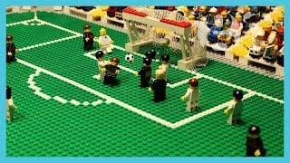 Germany vs USA | World Cup 2014 | Brick-by-brick