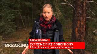 CBC News Network Ian Hanomansing and Johanna Wagstaffe on conditions in Fort McMurray
