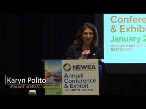 NEWEA 2017 Opening Keynote with Lieutenant Governor Karyn Polito