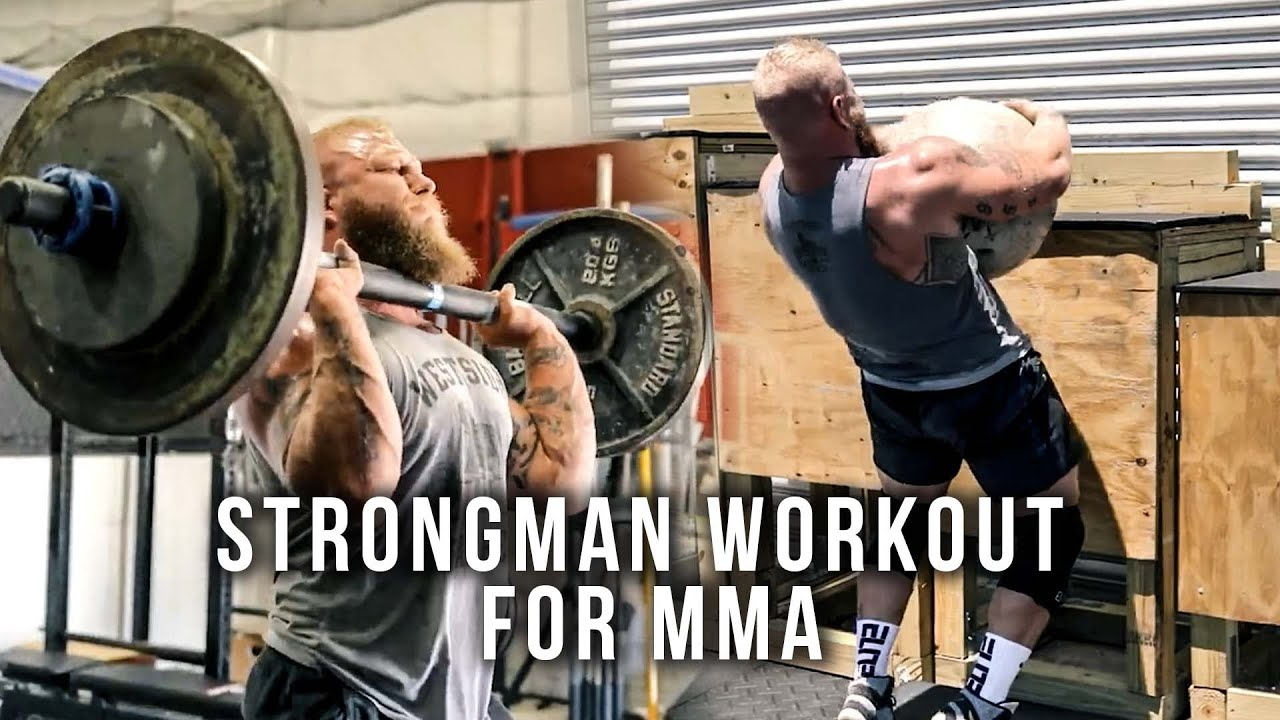 Heavy Lifting: Strongman Workout for MMA | Phil Daru