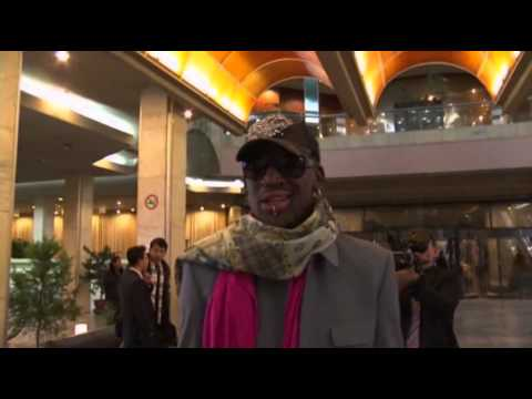 Rodman Plays and Sings in North Korea
