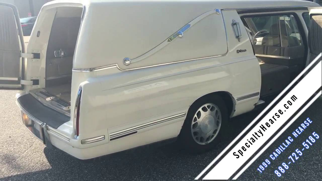 Hearse For Sale >> 1999 CADILLAC HEARSE FOR SALE - YouTube