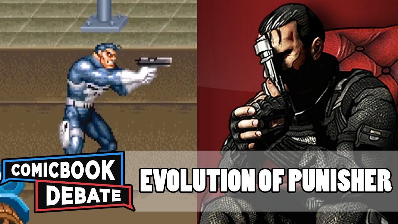Evolution of the punisher games in 5 minutes (2017) youtube.