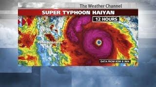Super Typhoon Haiyan (Yolanda) Heading Towards The Philippines