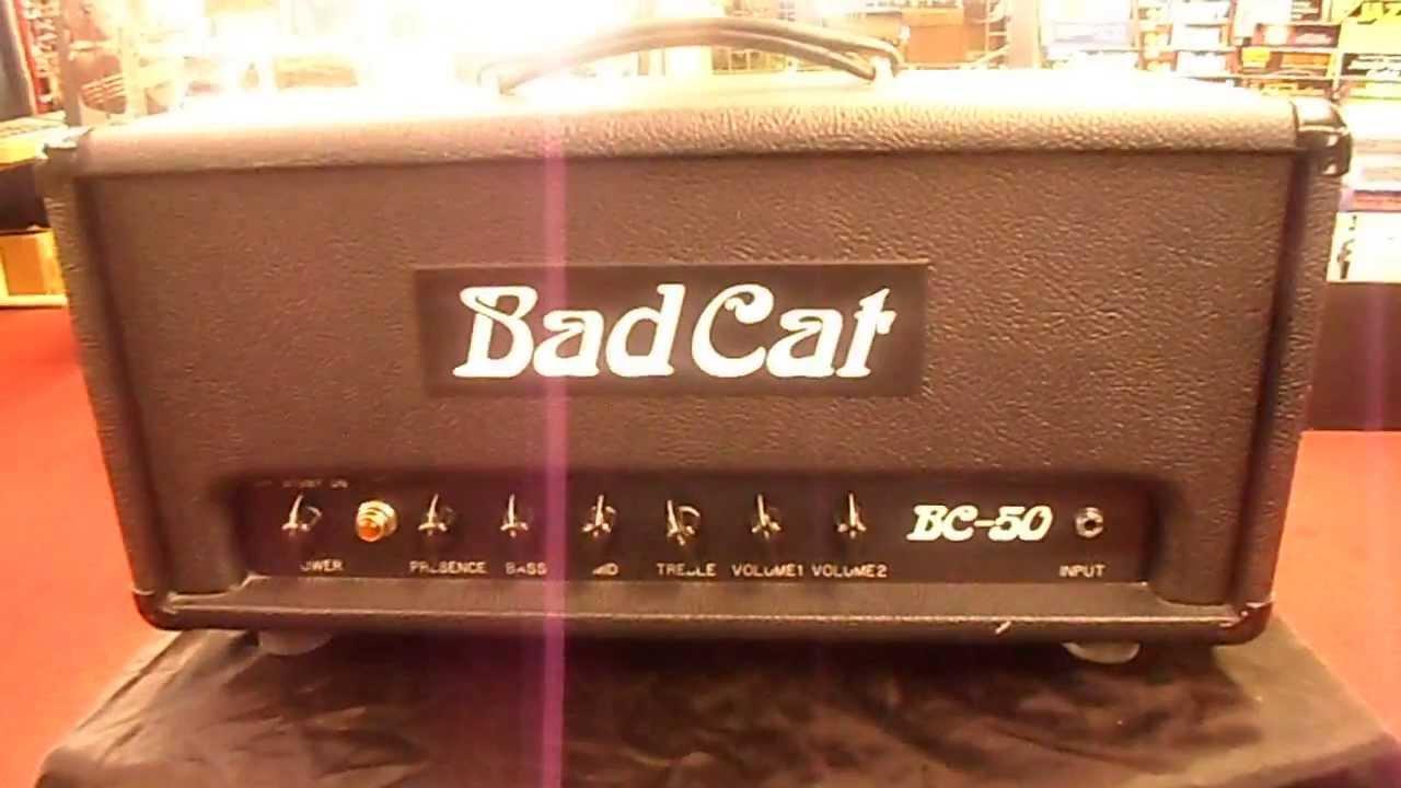 Guitar Amp Head For Sale : bad cat bc 50 50w tube guitar amp head for sale youtube ~ Vivirlamusica.com Haus und Dekorationen