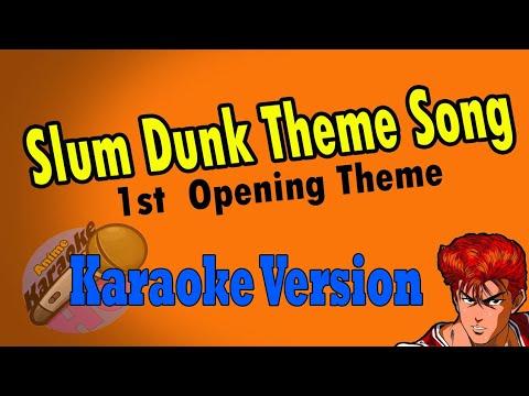AKHQ Slum Dunk Opening Theme - Kimiga Su Ki Dato Sakebitai Karaoke Version