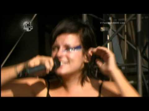 Lily Allen - Not Fair (Live @ V festival 2009)