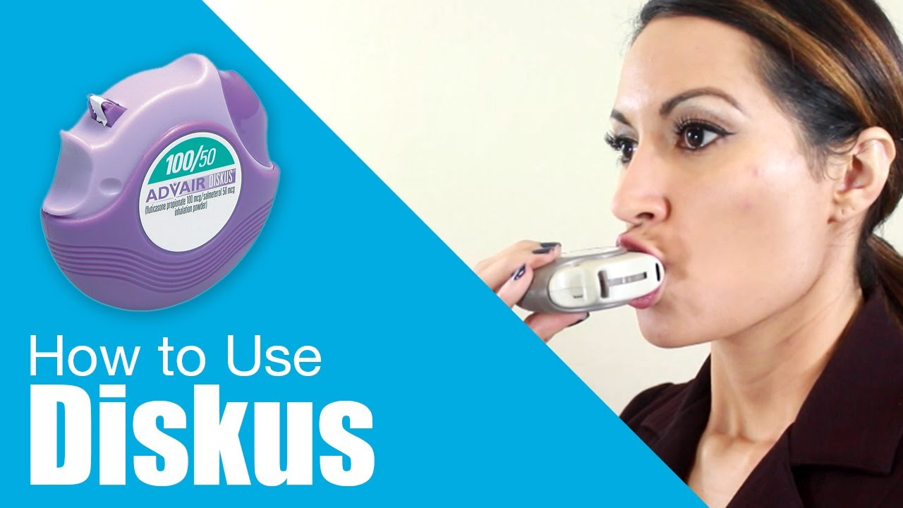 How To Use Diskus Use Inhalers