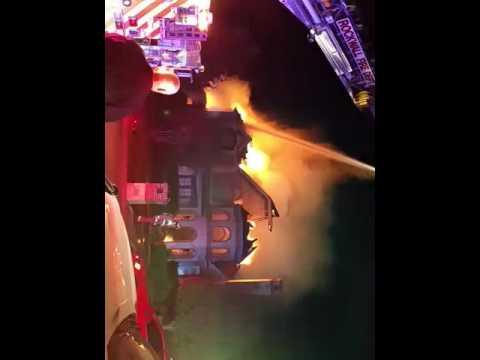 Heath /Rockwall  TX  house fire  2016 part 2