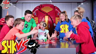 SuperHeroKids VS Ninja Kidz Bakugan Battle Planet Brawl!