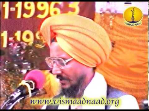 Raag Todi_ Bhai Narinder Singh Banaras : Adutti Gurmat Sangeet Samellan 1996