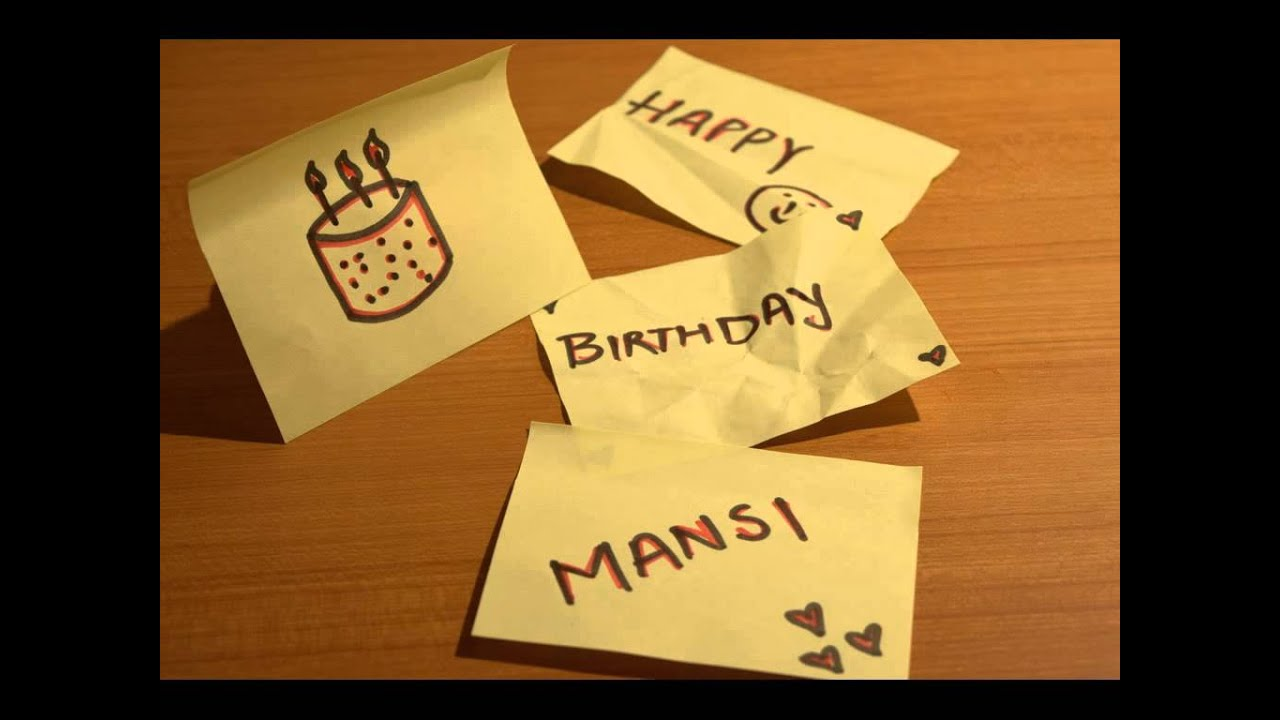 Happy Birthday Mansi YouTube