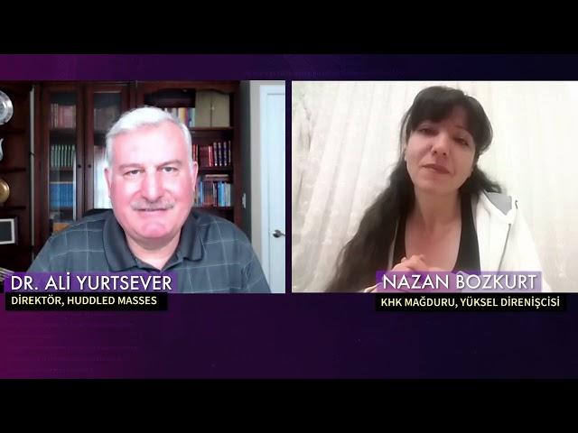 Susturulmuş Türkiye; Direniş sembolü Nazan Bozkurt uğradığı zulümleri anlattı.