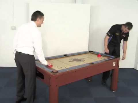 BCE Pool Air Hockey Card Table And Desk Foot YouTube - Six foot pool table