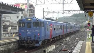 キハ66.67系 普通列車長崎行 諫早駅発車