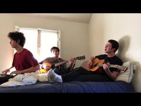 """Wallows perform """"Pulling Leaves Off Trees"""" in bed 
