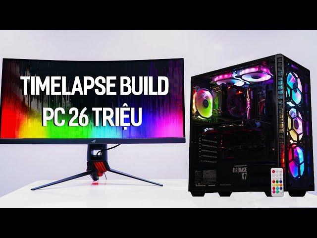 Quá trình lắp ráp và test game bộ PC Gaming 26 triệu sử dụng i5 8400 và GTX 1060 | Timelapse build