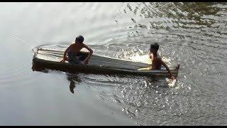 No Roads, No Cars, Just Village Boats | Amazing Madhupur village Lifestyle