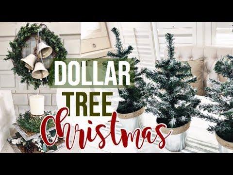 DOLLAR STORE CHRISTMAS DIY
