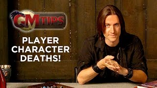 Player Character Deaths! (GM Tips w/ Matt Mercer)