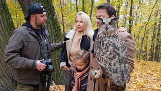Как фотографироваться с совой. Мастер-класс от филина Ёлки