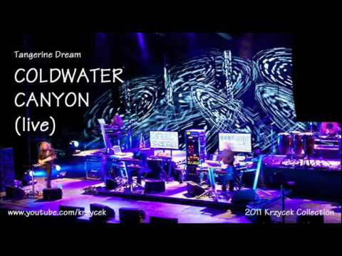 Tangerine Dream   COLDWATER CANYON live