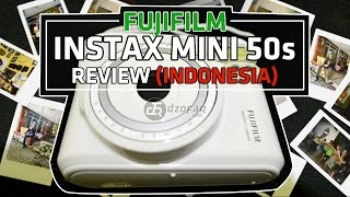 FUJIFILM INSTAX MINI 50S REVIEW (INDONESIA)