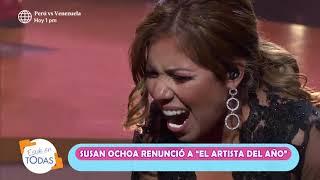 """Gisela le respondió así a Susan Ochoa tras su renuncia de """"El artista del año"""""""