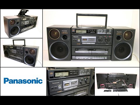 Panasonic RX-DT680 CD Radio FM AM Cassette Tape Recorder Boombox