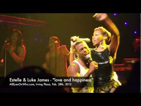 Estelle & Luke James- LOVE & HAPPINESS