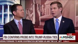 Rep. Swalwell on MSNBC's Morning Joe discussing Trump-Russia Intelligence Committee hearing