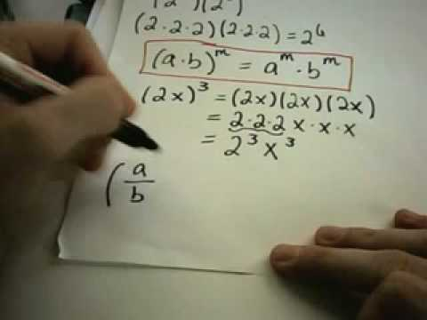 Basic Exponent Properties