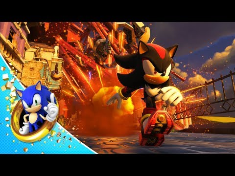 Shadow is playable in Sonic Forces DLC