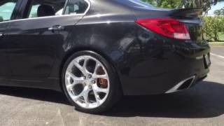 2013 Buick Regal GS lowered