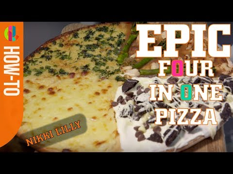 EPIC 4-in-1 Pizza Recipe With Nikki Lilly