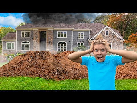 pond-monster-twins-destroy-sharer-family-house!!-(giant-hole-in-backyard-found)