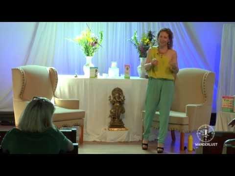 """""""Think Pink, Live Green"""" Dr. Marisa Weiss at Wanderlust's Speakeasy"""