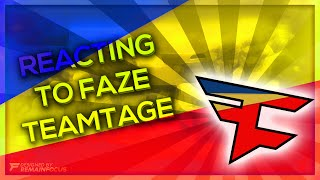 REACTING TO FAZE #THERETURN TEAMTAGE