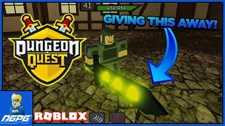 *ended* GHOUL SLAYER GIVEAWAY! (Roblox Dungeon Quest)